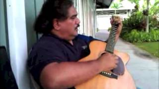 "Donald Kaulia, Hawaiian Slack Key Guitar Artist and ""Wailau"""