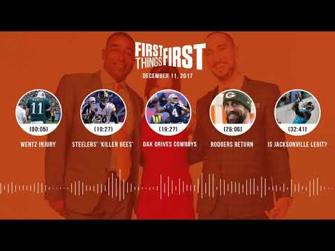 First Things First audio podcast(12.11.17)Cris Carter, Nick Wright, Jenna Wolfe | FIRST THINGS FIRST