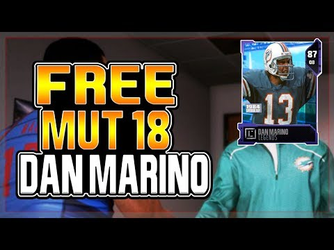 HOW TO GET A FREE DAN MARINO IN MUT 18!!!! EVERYTHING WE KNOW ABOUT LONGSHOT SO FAR!!!!