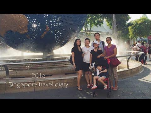 singapore travel diary // 2016