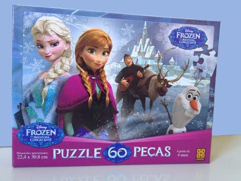 Disney S Princess Anna And Elsa Frozen Puzzle 60 Pieces