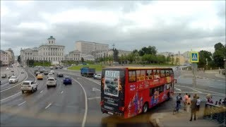 Moscow City Tour on HOP ON HOP OFF Bus - Green Route 1