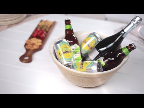 How to Chill Beer, Wine &  Soft Drinks in 5 Minutes | Tesco