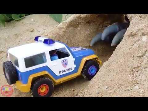 Perakitan Mobil Polisi Mainan - Bibo Indonesia - YouTube