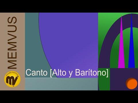CANTO (Alto y Barítono) 1