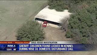 Children rescued from dog kennel