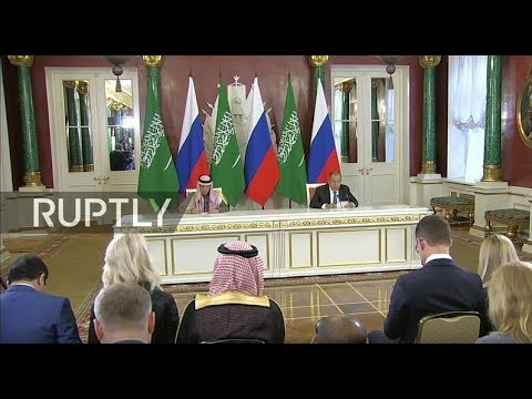 LIVE: Lavrov and Saudi FM hold joint press conference
