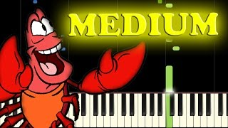 THE LITTLE MERMAID - UNDER THE SEA - Piano Tutorial
