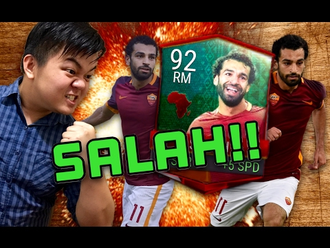 SALAH INSANE GAMEPLAY!! FASTEST RM ON FIFA MOBILE!! FIFA MOBILE IOS / ANDROID