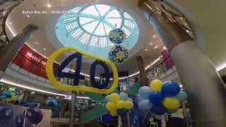 Ballon Box Dekoration: 40 Jahre Seedamm Center thumbnail
