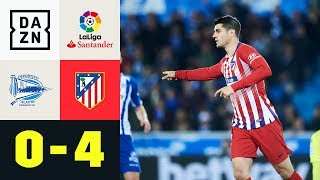 Alvaro Morata und Co mit Traumtoren |  Alaves - Atletico Madrid 0:4 | LaLiga | DAZN
