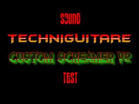 Custom Screamer V2 Sound Test