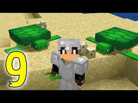COMO CRIAR TORTUGAS | Minecraft #9