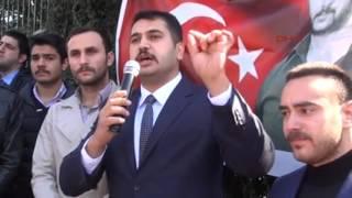 Fırat Çakıroğlu'nu anan Ülkücüler, Rektör'ü istifaya çağırdı