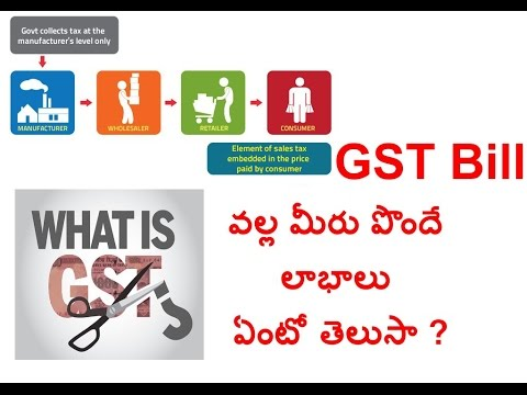 Gst Bill benefits for consumers || Telugu Tips and Tricks ||