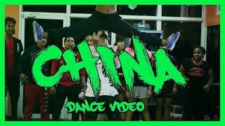 China - Coreografia por Jonathan Graciano X Anuel AA, Daddy Yankee, Karol G, Ozuna & J Balvin