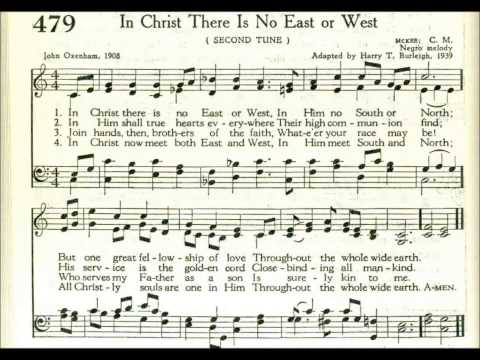In Christ There is No East or West (McKee)