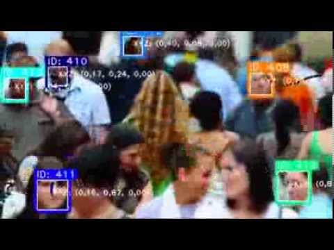 Face detection and tracking on crowd