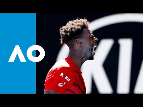 Gael Monfils Vs Ernests Gulbis - Match Highlights (3R) | Australian Open 2020