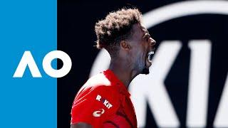 Gael Monfils vs Ernests Gulbis - Match Highlights (3R) | Australian Open 2020