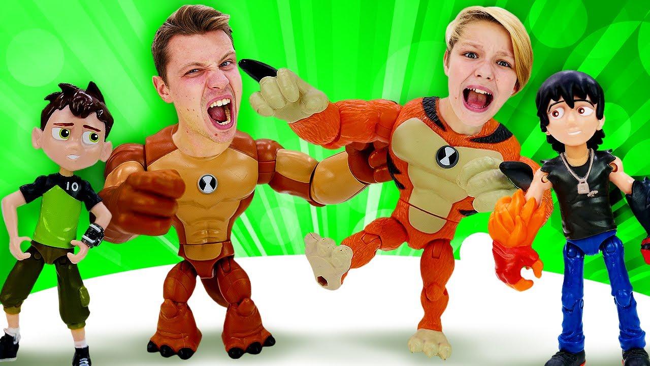 Видео игры - Бен 10 против Кевина: Битва героев Омниверс! – Онлайн видео для мальчиков.