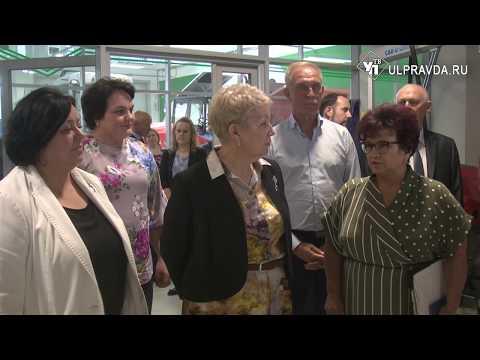 Министр просвещения РФ Ольга Васильева в Ульяновске управляла трактором