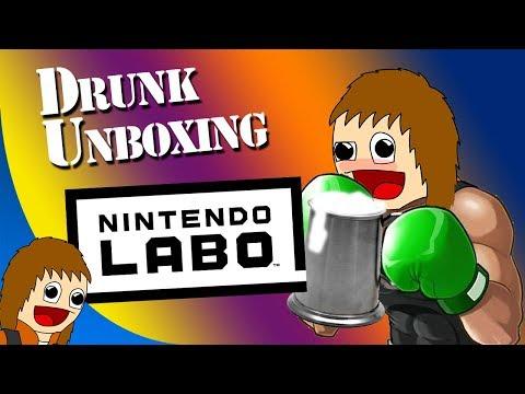 Drunk Unboxing: Nintendo LABO
