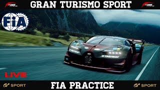 GT Sport - FIA Nations & Manufacturer Open Lobby Practice