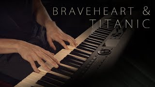Download Braveheart & Titanic: Piano Suite - A James Horner Tribute \\ Jacob's Piano Mp3 and Videos