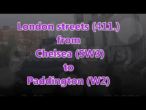 London streets (411.) - Chelsea (SW3) - Kensington - Paddington (W2)