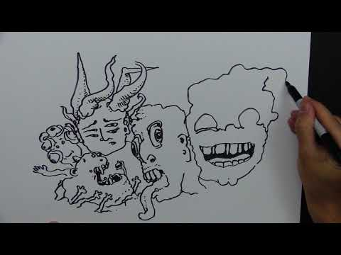 drawing-with-peter-draws:-weird-monster-faces-2