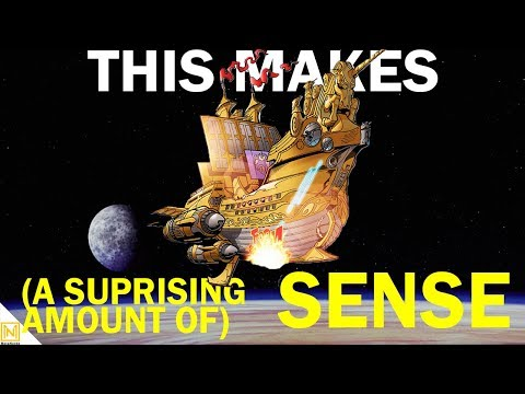 Are Sailing Space Ships As Ridiculous As They Look? | Star Wars Ship Lore