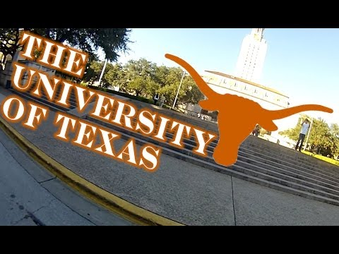 Tour of The University of Texas by Motorcycle + How I Got In, My Major