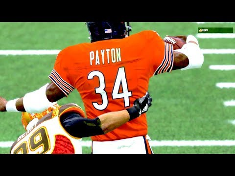 Walter payton carrying bodies downfield madden 19 ultimate team youtube - Walter payton madden 15 ...