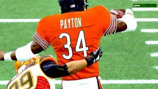 Walter Payton CARRYING BODIES DOWNFIELD! Madden 19 Ultimate Team