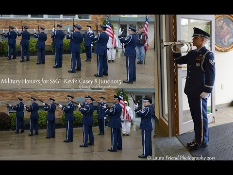 SSGT Kevin Casey - Active Duty US Air Force Military Funeral Buffalo, NY