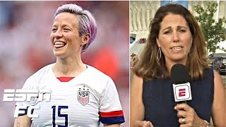 Megan Rapinoe hit her stride this World Cup as a leader – Julie Foudy | 2019 Women's World Cup