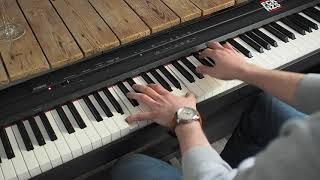 Danger Dan - Das ist alles von der Kunstfreiheit gedeckt (Piano Instrumental + MIDI-File & Noten)