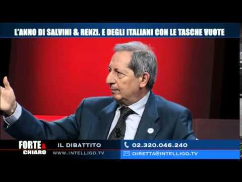 """Carlo Fatuzzo ospite di Roberto Poletti a """"Forte e Chiaro"""" - 24 dicembre 2014"""