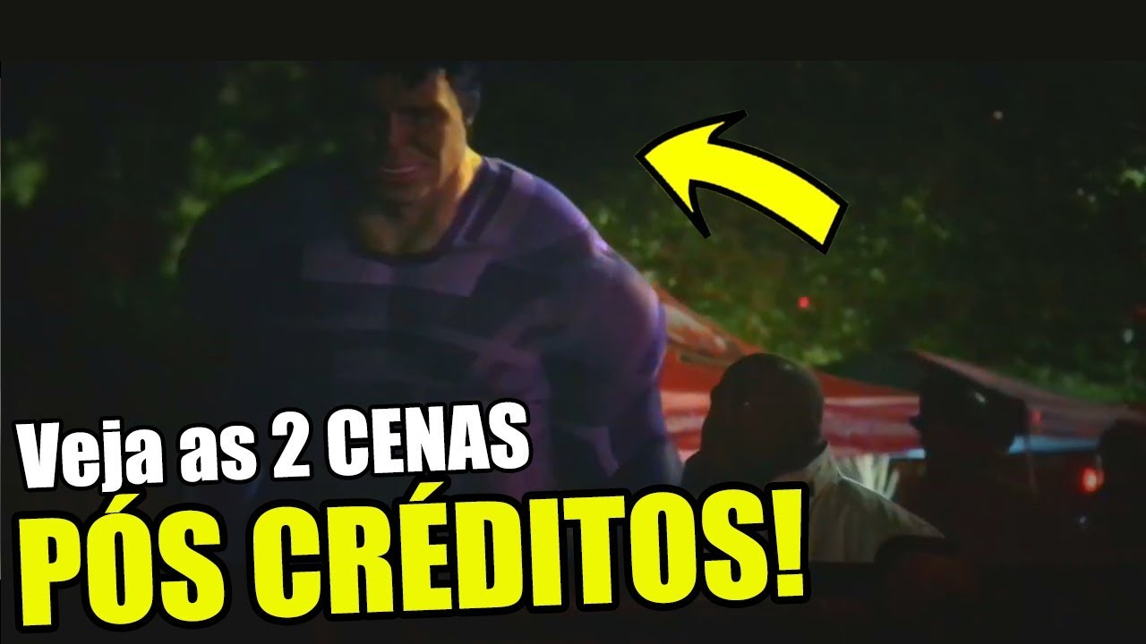 VEJA AS 2 CENAS PÓS CRÉDITOS DE VINGADORES: ULTIMATO!