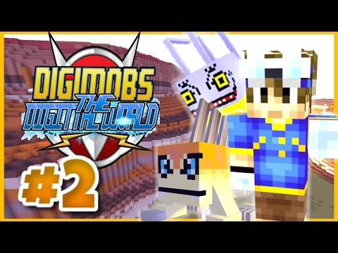 MINECRAFT DIGIMOBS ROLEPLAY ► THE DIGITAL WORLD Episode 2 ► TRAPPED! (Minecraft Digimon Mod)