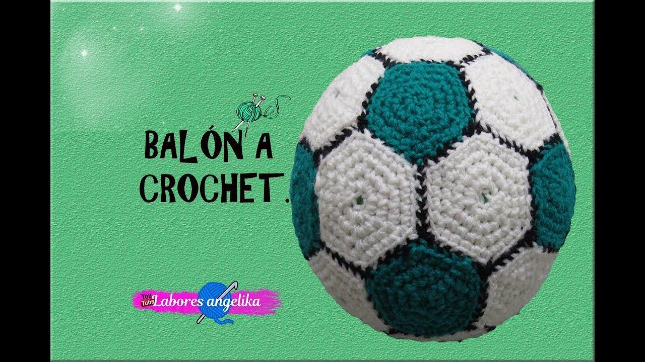 BALÓN A CROCHET. | Labores Angélika | - YouTube
