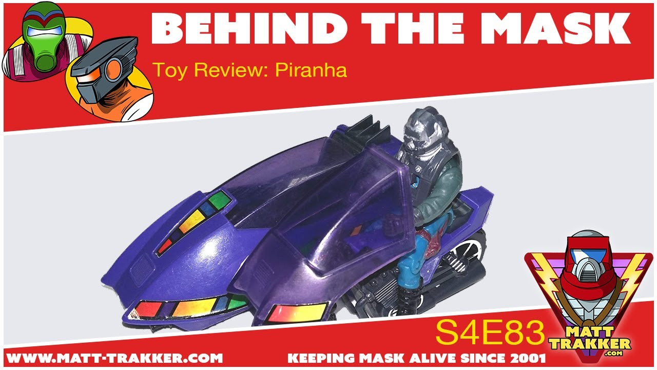 Toy Review: Piranha - S4E83
