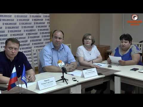 Пресс конференция с руководством завода БРТ по вопросам загрязнения воздуха ( Полная версия)