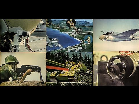 Laser Weapons for the U.S. Fleet & Marines - Restored COLOR 1985