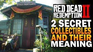 2 Secret Collectibles & Their Secret Meaning! Red Dead Redemption 2 Secrets [RDR2]