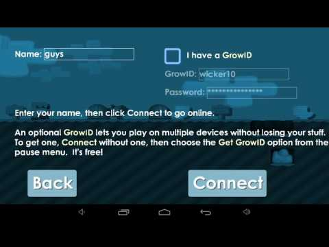 Growtopia free account not banned