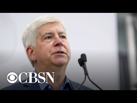 Former Michigan Governor Rick Snyder and 8 others charged in 2014 Flint water crisis