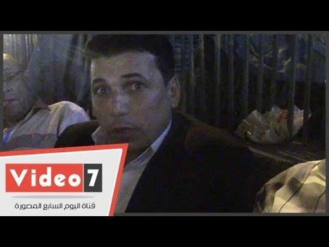 اليوم السابع : مواطن يطالب بحل أزمة طريق الموت بمركز الحسنية