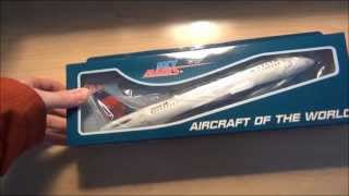 Sky Marks Delta Airlines A320 Unboxing